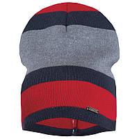 Детская шапка демисезонная вязаная для мальчика GSK-144