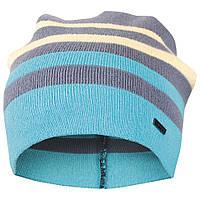 Детская шапка демисезонная вязаная для мальчика GSK-143