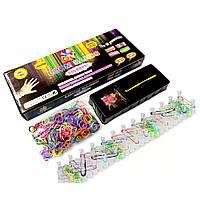 Набор Loom Bands для плетения браслетов из резинок, 600шт