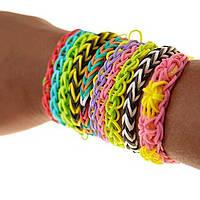 Loom Bands для плетения браслетов из резинок, 600шт