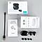 Бездротові навушники вакуумні стерео Aspor Air Twins A6 TWS Bluetooth-гарнітура з боксом для зарядки Black, фото 9