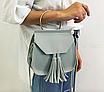 Женская сумка через плечо с ручкой Treysi Серый, фото 3