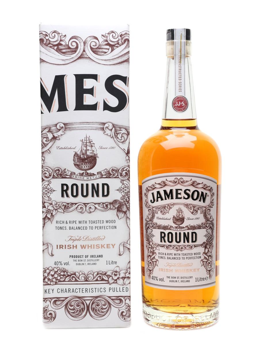 Ирландский виски Jameson Round 1 литр