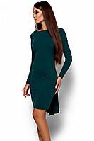 (S / 42-44) Вечірнє темно-зелене плаття з відкритою спиною Amarino