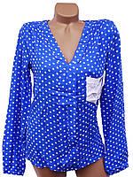 Яркие женские блузки