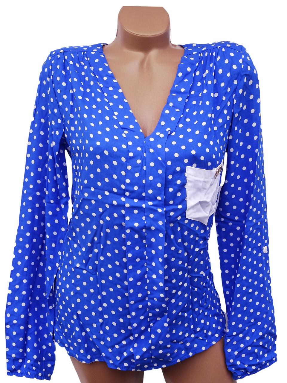 Яркие женские блузки 44