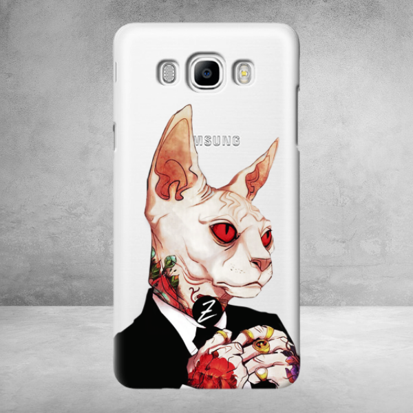 Чехол для Samsung Galaxy j5 2016 Mister Cat