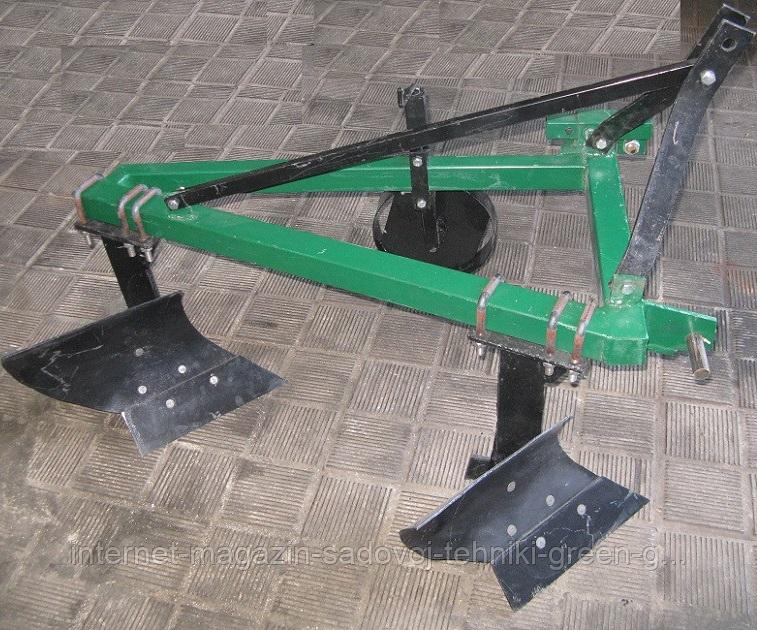 Плуг двухкорпусный ПН-225 для минитрактора, трактора