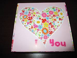 "Коробка подарочная 150*150*50  ""I LOVE YOU"""