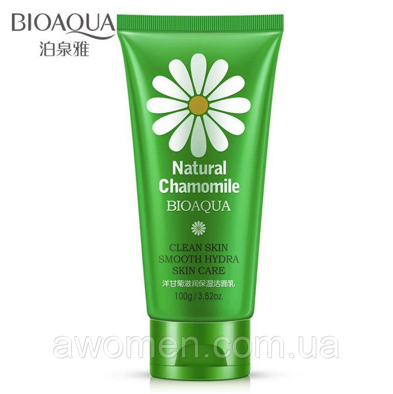 Пенка для умывания Bioaqua Natural Chamomile с ромашкой, 100 g