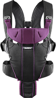 Рюкзак-кенгуру BabyBjorn Carrier Miracle (Black/Purple)