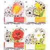 Тетрадь 48 клетка «Квіти»