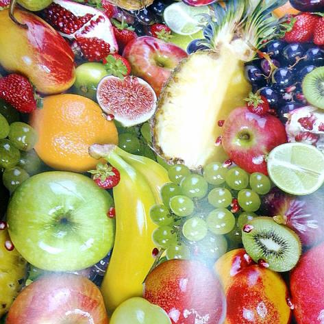 Аппетитные фрукты на столе. Скатерть отрезная, фото 2