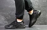 Мужские кроссовки Nike Air Huarache (черные), фото 4