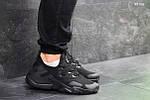 Мужские кроссовки Nike Air Huarache (черные), фото 2