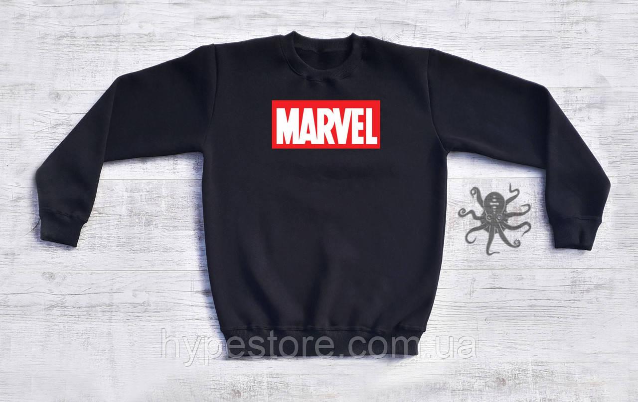 Мужской спортивный свитшот, кофта, лонгслив, реглан Marvel, Реплика