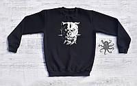 Мужской спортивный свитшот, кофта, лонгслив, реглан Pit bull, Monster, Реплика