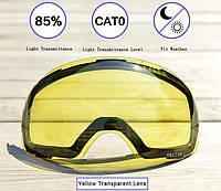 Змінна лінза для гірськолижної маски VECTOR UV-400 на магнітних кріпленнях (модель 2018г.), фото 1