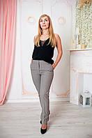 Модные женские брюки Леона бежевые