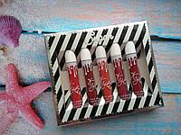 Подарочный набор помад Kylie Sugar Lip Set Красные