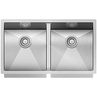 Мойка для кухни Aquasanita Enna ENN-200L нержавеющая сталь