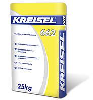 Цементно-известковая шпатлевка для наружных работ Kreisel 662 (25 кг)