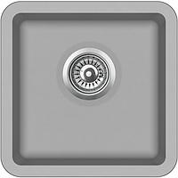 Мойка для кухни гранитная Aquasanita Arca SQA-100W-220 серебро