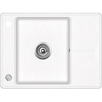Мойка для кухни гранитная Aquasanita Bella SQB-102AW-710 белый