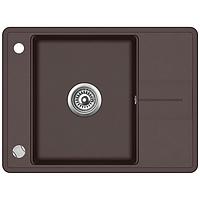 Мойка для кухни гранитная Aquasanita Bella SQB-102AW-120 коричневый