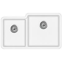 Мойка для кухни гранитная Aquasanita Arca SQA-230R-710W белый