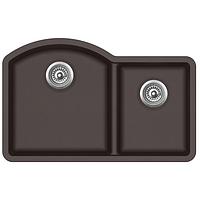 Мойка для кухни гранитная Aquasanita Arca SQA-220W-120 коричневый