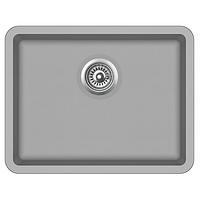 Мойка для кухни гранитная Aquasanita Arca SQA-102W-220 серебро