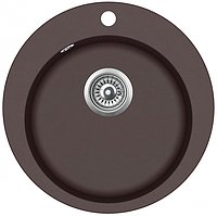 Мойка для кухни гранитная Aquasanita Clarus SR100W 120 коричневый