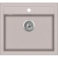 Мойка для кухни гранитная Aquasanita Quadro SQQ-100W-112 ора