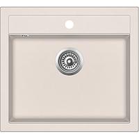 Мойка для кухни гранитная Aquasanita Quadro SQQ-100W-111 силика