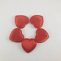 Сердечки тканевые , фото 1