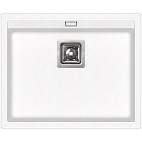 Кухонная мойка гранитная AquaSanita Delicia SQD100W 710 белый
