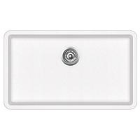 Кухонная мойка гранитная AquaSanita Arca SQA-104-710 белый