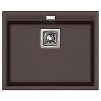 Кухонная мойка гранитная AquaSanita Delicia SQD-100-120 коричневый