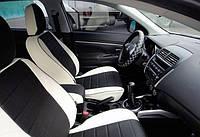 Чехлы на сиденья Джили Эмгранд ЕС8 (Geely Emgrand EC8) (модельные, экокожа, отдельный подголовник), фото 1