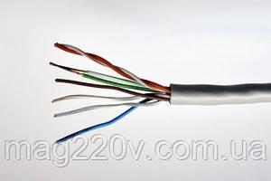 Витая пара UTP 4x2x0,48мм CCA внутр. прокладки (патч корд)