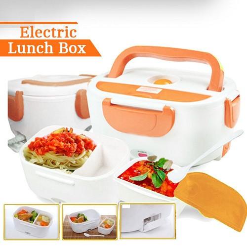Ланч бокс с подогревом Electric Lunch Box original. Контейнер с подогревом