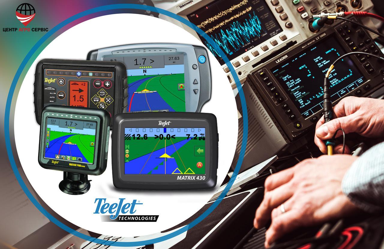 Ремонт,диагностика, системы параллельного вождения (gps навигатора для трактора,сельхоз навигатора) TEEJET