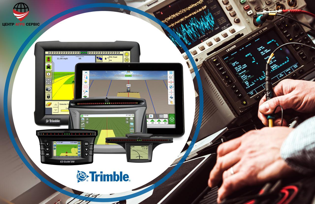 Диагностика, ремонт, прошивка курсоуказателя (агронавигатора, навигатора для поля) TRIMBLE