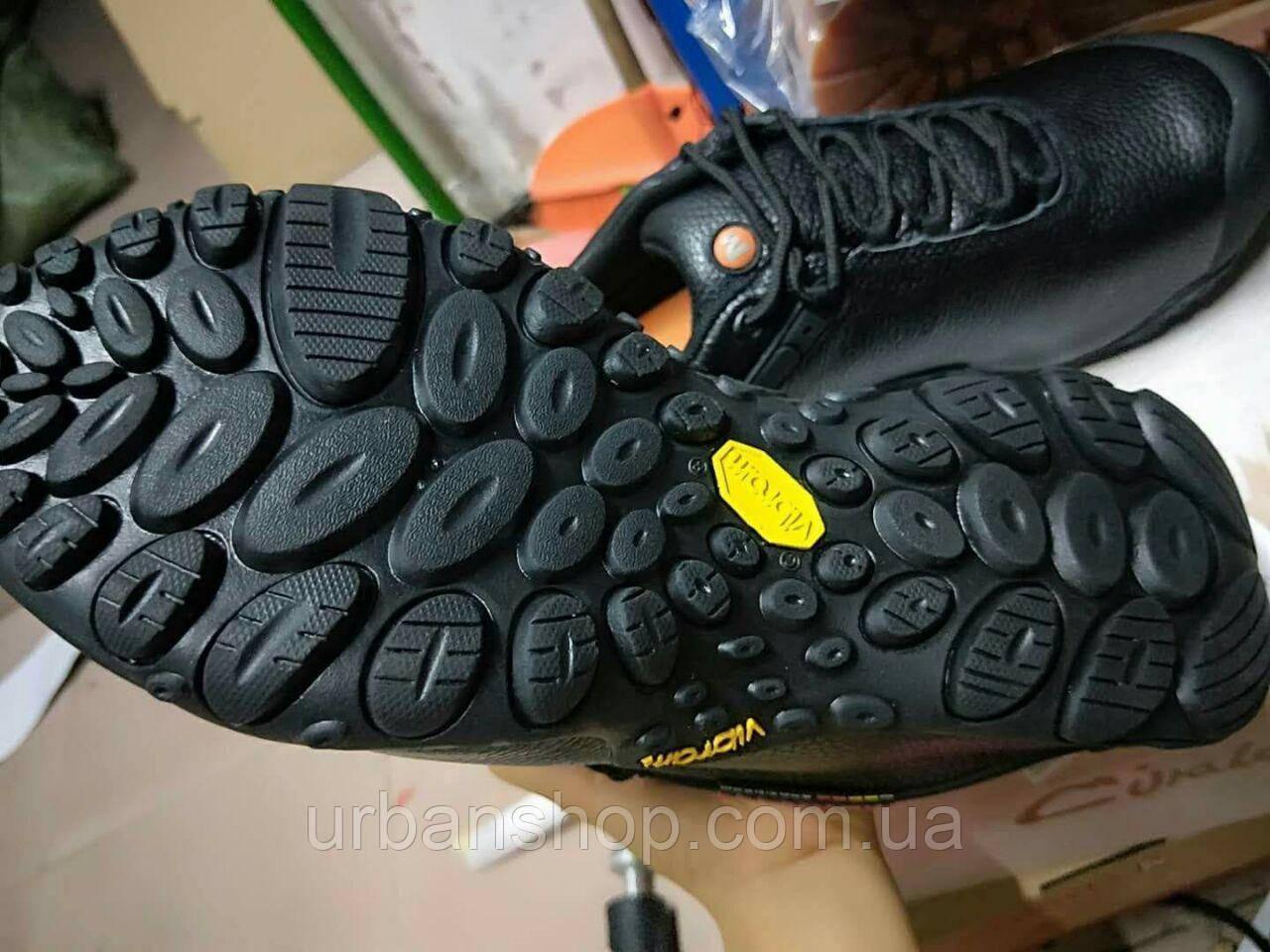 Кросівки Merrell Vibram 2 Reactor Black Waterproof шкіряні.