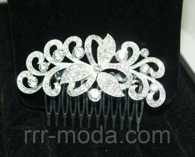 Гребешки для волос свадебные, мелким и крупным оптом, раздел свадебная бижутерия