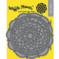 Нож для вырубки Waffle Flower Crafts Doily Circle (859766005572)