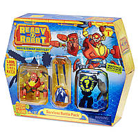 Игровой набор большой сюрприз роботы, слайм, Ready2Robot Battle Pack - Survivor, MGA Оригинал из США