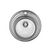 Кухонная мойка ULA HB 7109 ZS Polish нержавеющая сталь