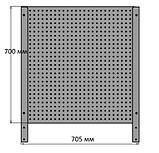 Тележка для инструментальная 7 полок с перфорированной панелью, фото 4